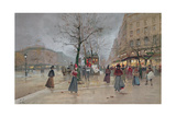 Evening in the Opera Quartier of the Grands Boulevards  Early 20th Century]