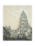 Central Tower and Superior Court of Angkor Wat  1873