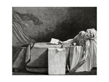 Jean-Paul Marat (1743-1793)  Death of Marat