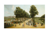 View of the Mall in St James's Park  1709-10