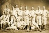 The Metropolitan Baseball Nine  1882