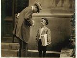 8 Year Old Newsboy Michael Mcnelis