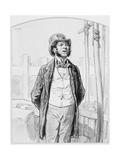 Inspecteur Privé Des Travaux Publics  Plate 13 from Les Toquades  1858