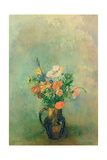 Poppies and Other Flowers in a Vase