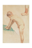Study of a Boy and a Foot  1888