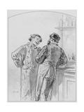 La Goutte  Plate 17 from Les Toquades  1858