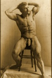 Eugen Sandow  in Classical Ancient Greco-Roman Pose  C1893