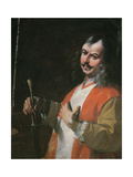 Self Portrait  from 'St John the Baptist Preaching'