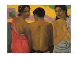 Three Tahitians  1899