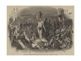 Solomon Eagle Preaching Repentance During the Plague  1665