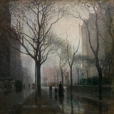 The Plaza after the Rain  1908