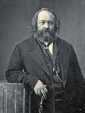 Portrait of Mikhail Aleksandrovich Bakunin  C1860