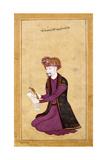 Portrait of the Sultan of the 'Ulama'  Khalifa Sultan (1593-1653)  I'Timad Al-Dawal  C1650