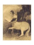 Centaure Lisant