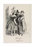 J'Vous Dis Que Vot' Femme a Insulté La Mienne  M'Sieu!  1838
