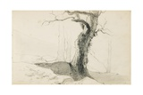 Drawing from an Album Titled 'The Basque Country'  1862-63