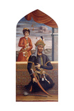 Portrait of Afrasiyab  King of Turan  C1803-4
