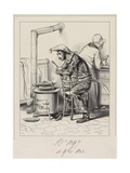 Avancez-Moi  Donc Cent Sous M'Man    1838