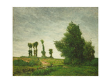 Landscape with Poplars  1875