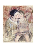 Woman and Child (Mathilde Holding a Child)  C1900