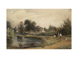 View of Iffley from the River  1841