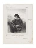 La Musette (The Bagpipe Player)  1844