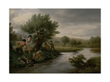 Spearing the Otter  1805