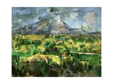Mont Sainte-Victoire  C1902