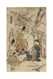 Parrot Komachi of the Floating World  1711-1716