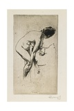 Study of Nude Female Figure  1886