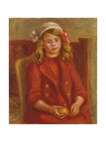 Young Girl with an Orange; Fillette a L'Orange  1911
