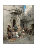 The Young Flower Seller; Le Jeune Marchand De Fleurs