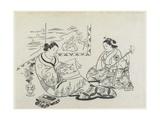 (Mitate of Matsukaze and Murasame)  C 1704-1706