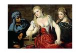 Venetian Women at their Toilet  C1545