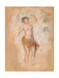 Study of a Faun Woman Dancing for 'Oedipus Rex'  C 1900