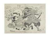Kumagai Naozane and Taira No Atsumori  Late 17th-Early 18th Century