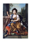 Portrait of Louise Marie Anne De Bourbon or Mademoiselle De Tours (1674-1681)