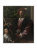 Portrait of Lorenzo Cybo  1523