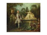 Portrait of the Actor Grandval  C1742