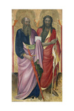 The Apostle Paul and John the Baptist  C1418-20