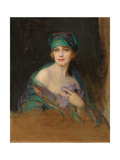 Portrait of Princess Ruspoli  Duchess De Gramont (1888-1976)  1922