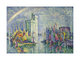 Rainbow at the Port of La Rochelle; Arc-En-Ciel  La Rochelle  Le Port  1912