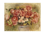 Still Life of Roses in a Vase  1880s and 1890s