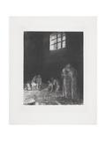 Dans L'Ombre Des Gens Pleurant Et Prient  1896