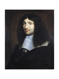 Portrait of Man  Presumably Jean Baptiste Colbert (1619-1683)  Painted by Philippe De Champaigne (1