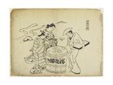 Three Sake Tasters 1710