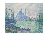 The Minarets at the Golden Horn; La Corne D'Or  Les Minarets  1907