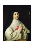 Portrait of Catherine-Agnes Arnauld  1662