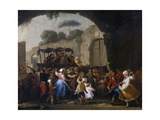 Celebrations in Honor of the Madonna of the Arch  1778