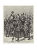 Return of Prince Alexander to Bulgaria  the Prince Carried in Triumph by His Officers at Rustchuk